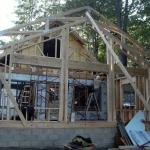 Framework for the front addition.